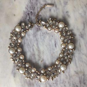 Oscar de le Renta pearl runway necklace